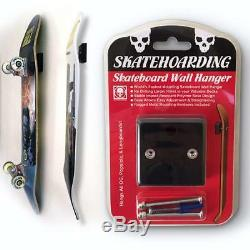 10-PACK Pro Skateboard Wall Hanger Mount Rack Display Santa Cruz Powell Peralta