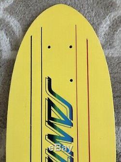1977 NOS Santa Cruz Kick Tail Vintage Skateboard Epoxy Deck 70s Phillips