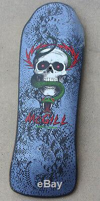 1980 OG Mike McGill Powell Peralta Time Warp Skateboard Deck Clock Store Promo