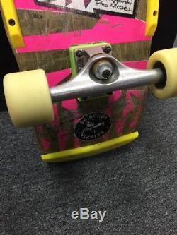 1980's Vision Gator 2 Mark Rogowski Skateboard Vintage & Original RARE