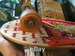 1987 POWELL MCMLXXXVII Caballero Steve Peralta vintage skateboard og deck