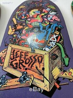 1987 Santa Cruz Jeff Grosso Toybox Rare Vintage Original NOS Skateboard Deck OG