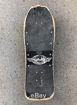 1987 Vintage Sims Jeff Phillips Pro Model Skateboard Deck Tie Dye