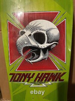 1987 Vintage Tony Hawk Extremely Rare Green NOS Not Reissue Bones Brigade