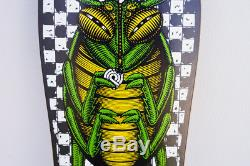1988 NOS Powell Peralta, Bug, Deck, Green and Black Checkers, XT