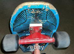 1988 Powell & Peralta Vallely Blue Elephant Deck Bones Threes BSA Venture