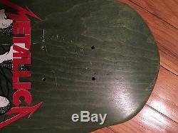 1988 Zorlac Metallica Deck, New And Rare