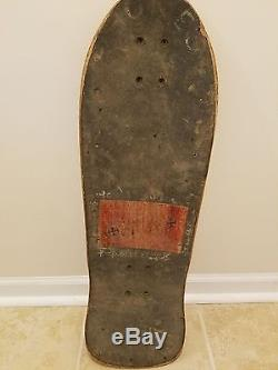 1989 Vintage Santa Cruz Corey O'Brien skateboard deck