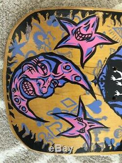 1989 Vision Ouija Skateboard Deck Vintage Rare NOS