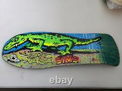 1990 SIMS Eric Nash Skateboard Deck Vintage Rare NOS
