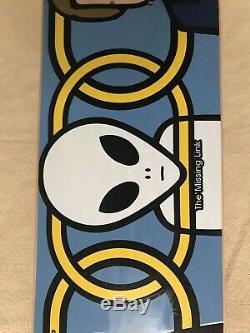 1994 Alien Workshop Missing Link Skateboard Deck Nos
