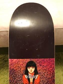 1994 Hook Ups Flower Girl Slick Skateboard Deck Nos Jeremy Klein Dbz Dream Girl