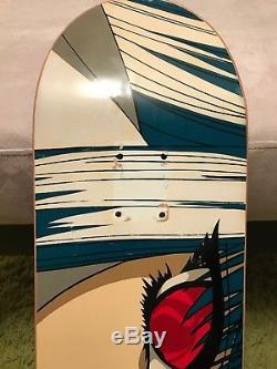1994 Hook Ups Mika 3 Skateboard Deck Nos Jeremy Klein Dbz Dream Girl