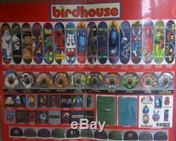 1996 Birdhouse Paul Zitzer Skateboard Deck Jeremy Klein Steve Berra Rare Vtg