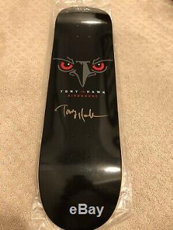 1 Autographed Tony Hawk Signed Lakai Birdhouse Deck 8.25