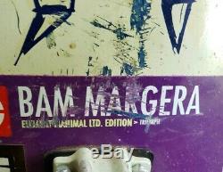 2001 Bam Margera Element Bat Manimal Triumph 32 Deck Rare Complete Skateboard