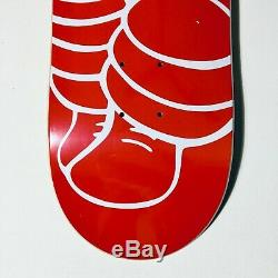 2001 Supreme x KAWS Chum Red Skateboard Deck still in Plastic. Banksy, retna