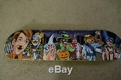 2008 Supreme Sean Cliver Halloween Skateboard Deck Nos Rare