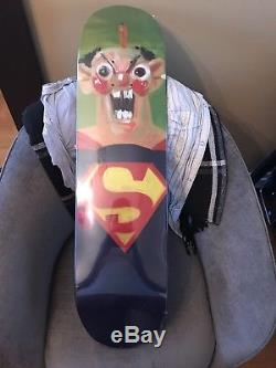 2010 Supreme X George Condo Skateboard Skate Deck 1 of 3 SUPER RARE