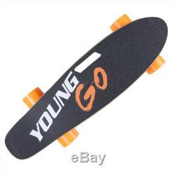 250W Electric Skateboard Hub Motor Wireless Remote Maple Deck Longboard US STOCK