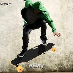 250W Electric Skateboard Longboard Wireless Remote Control Long Board Maple Deck