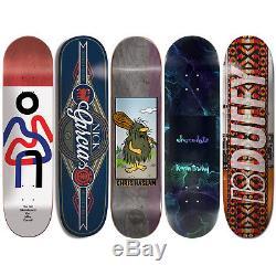 5 Skateboard Deck Decks 8.375 Almost Chocolate Element Plan B Girl Bulk Lot