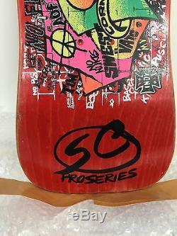 80's nos santa cruz jeff kendall vintage skateboard