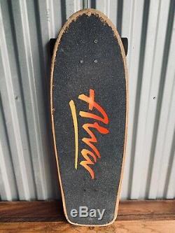 ALVA 1979 Tri Logo Black Old School Certified Reissue Complete Skateboard Deck