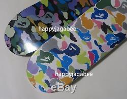 A BATHING APE Men's BAPE MULTI CAMO SKATEBOARD 2colors SK8 From Japan New
