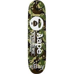 A Bathing Ape Aape Bape CAMOUFLAGE SKATEBOARD DECK Brand New