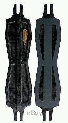 Alani Lani 44 Mauna, longboard deck soft, drop through, push, paddle, carbon