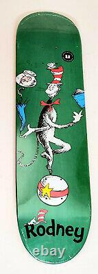 Almost Dr. Seuss Cat Ball One Fish Rodney Mullen Skateboard Deck 8.0 x 31.7
