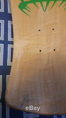 Alva Chris Cook NOS AUTOGRAPHED Jester Vintage Skateboard Deck