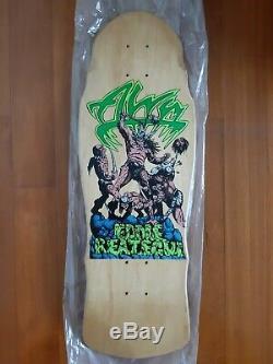 Alva Eddie Reategui Warriors Skateboard Deck NOS Vintage 1980s Full Size Rare