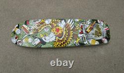 Anti Hero Jeff Grosso Eagle Trash 9.25 Wide Skateboard Deck