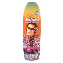 Anti Hero Skateboards Jeff Grosso 10.1 Jim Jones Rainbow Punch Skateboard Deck