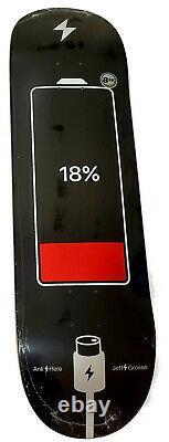 Antihero Anti-Hero Jeff Grosso Battery Life 8.62 Black Skateboard Deck Sold Out