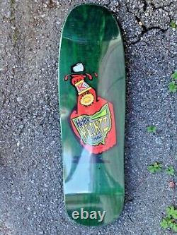 Assault Mark Heintzman Heinz Ketchup G&S Green Rare NOS Reissue Skateboard Deck