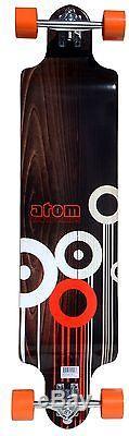 Atom Drop Deck Longboard Complete Skateboard Downhill Cruiser NEW (41-Inch)