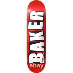 Baker Skateboard Deck OG Logo 8.25 White