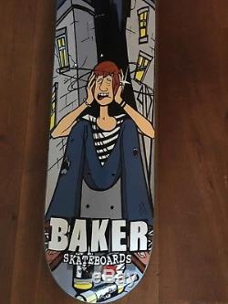 Baker skateboards Andrew Reynolds NOS 2001