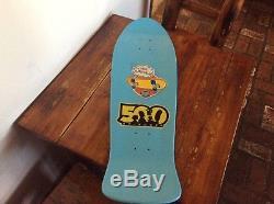 Bart Simpson Santa Cruz Slasher Skateboard Deck. Limited Edition. Rare. New