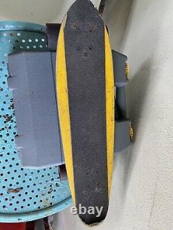 Bennett Trucks with Sims Wheels G&S Deck Vintage Skateboard