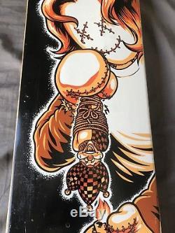 Birdhouse Skateboards Heath Kirchart Voodoo Revenge Deck, Baker, Rare NOS, Flip