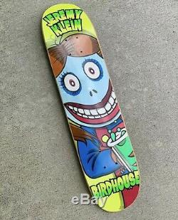 Birdhouse Skateboards Jeremy Klein Demon Child 2 Rare Deck 1997 Heath Kirchart