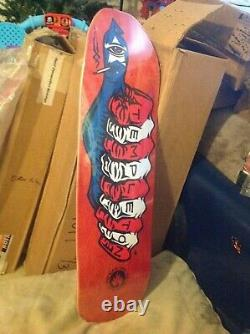 Black Label Ed Templeton guest model Skateboard Deck Red New toy machine