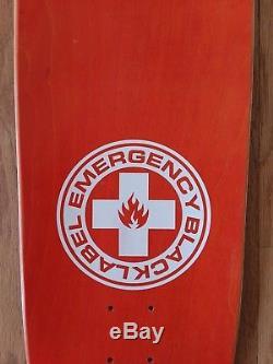 Black Label Jeff Grosso Demon Emergency Skateboard Deck Santa Cruz Jim Phillips