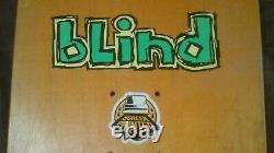 Blind Mark Gonzales Colored People Skateboard Deck Rare Flocked Version