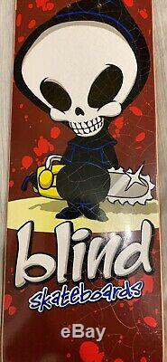 Blind Skateboard Deck NOS Rare 1997 1998 Reaper Birdhouse Mckee Cliver