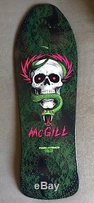 Bones Brigade Mike McGill Powell Peralta skateboard deck Hawk Cab Mullen